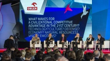 EFNI 2014 - What makes for a civilizational competitive advantage in the 21st century? Technology? Culture? Defence? Economy? Natural resources? Vision? Emotions?